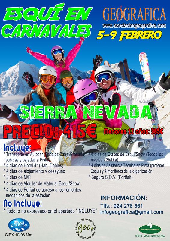 Cartel Esqui Carnavales 2016-1 800X560