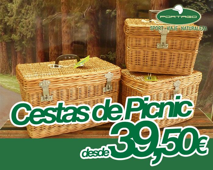 cestas de picnic portago badajoz
