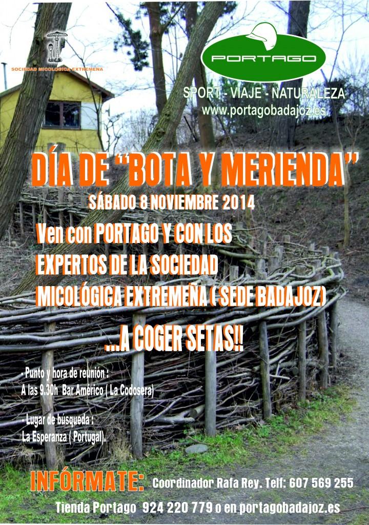 dia de bota y merienda Portago Badajoz