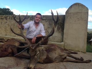 Buen trofeo de Francisco Javier Lozano,  posible bronce (Alcornoque Alto)