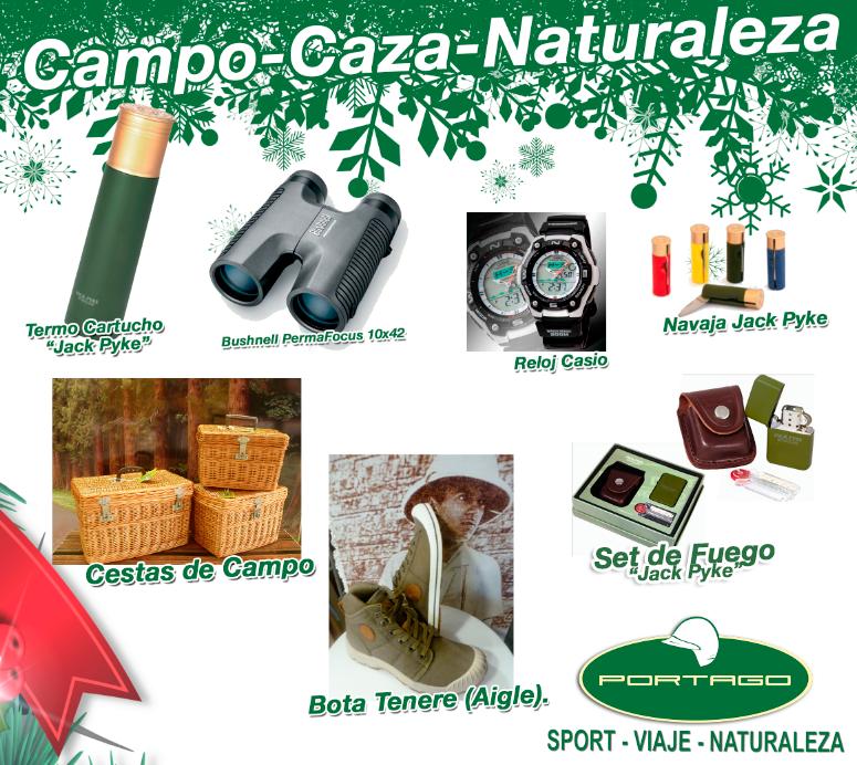 oferta navidad portago campo caza naturaleza