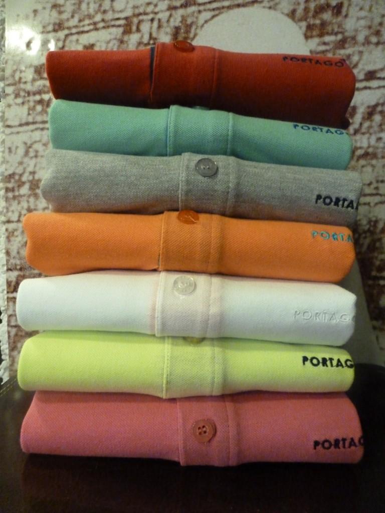 Polos manga corta Portago Badajoz, 7 colores