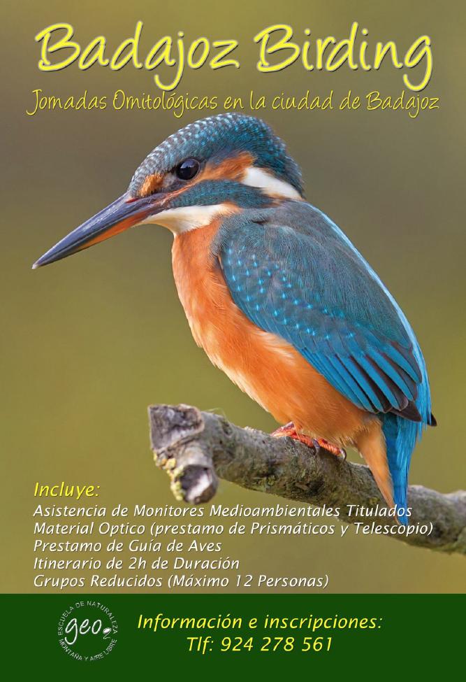 Badajoz Birding Portago Badajoz