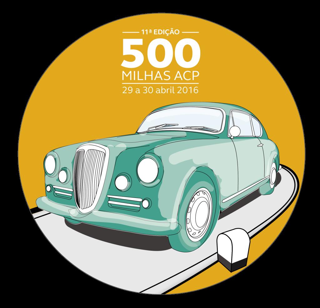 Logo 500 Milhas 2016